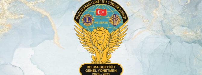 118 Y Lions Yönetim Çevresi Kulüpleri 10 Kasım mesajı